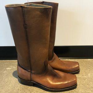 NWOT Vintage Frye Leather Boots 11D
